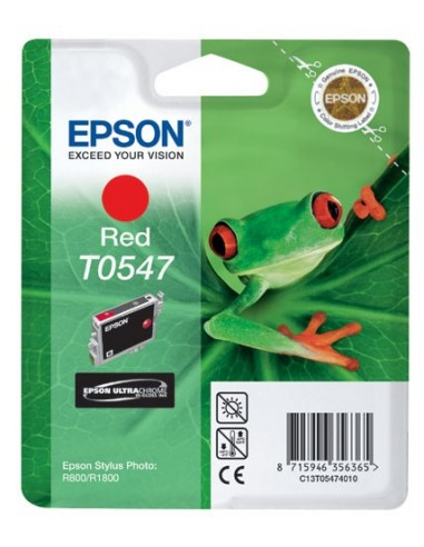 Epson kartuša T0547 Red za R800 (400...