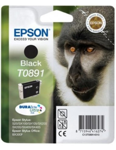 Epson kartuša T0891 črna za Stylus S20