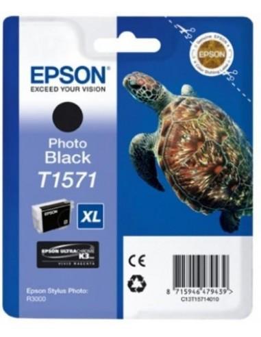 Epson kartuša T1571 Foto-črna za R3000