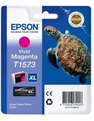 Epson kartuša T1573 Magenta za R3000