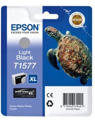 Epson kartuša T1577 Light-črna za R3000