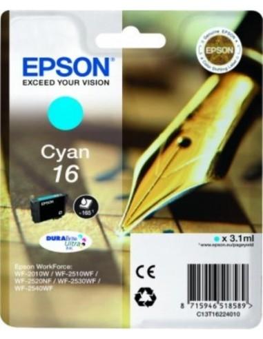 Epson kartuša 16 Cyan za WorkForce...