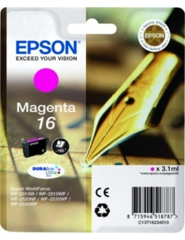 Epson kartuša 16 Magenta za WorkForce...
