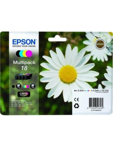 Epson komplet kartuš T1806 Bk+C+M+Y