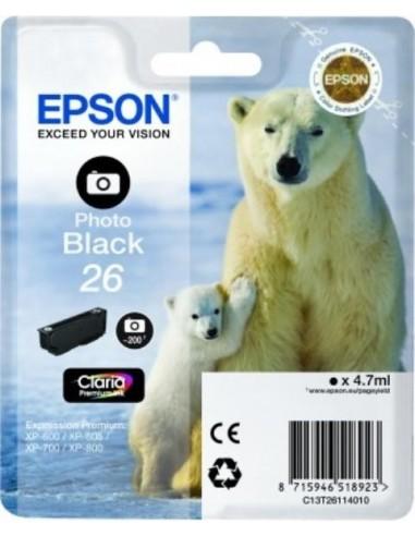 Epson kartuša 26 foto-črna za...