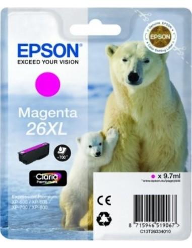 Epson kartuša 26XL Magenta za...