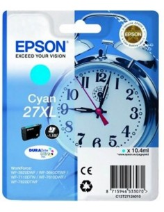 Epson kartuša 27XL Cyan za...