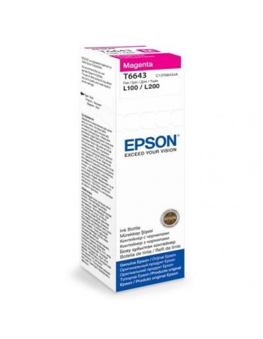 Epson črnilo T6643 Magenta za...