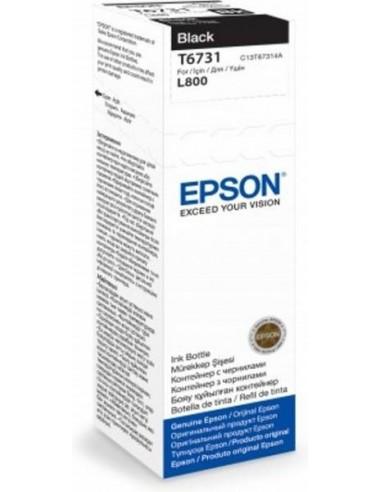 Epson črnilo T6731 črno za L800