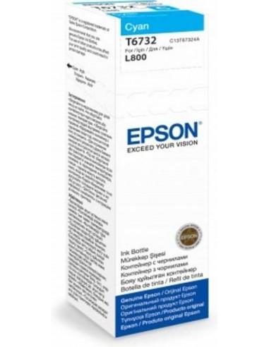Epson črnilo T6732 Cyan za L800