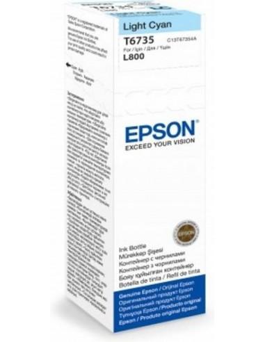 Epson črnilo T6735 Light-Cyan za L800...