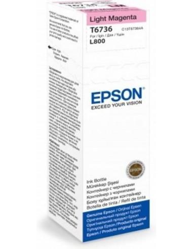 Epson črnilo T6736 Light-Magenta za L800