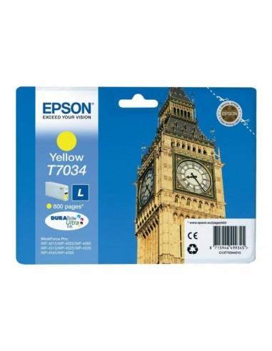 Epson kartuša T7034 Large Yellow za...
