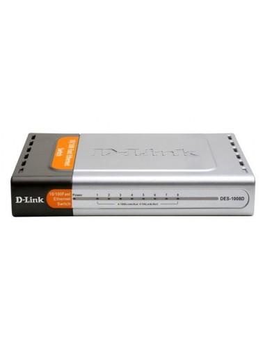 Switch D-Link DES-1008D, 8port...