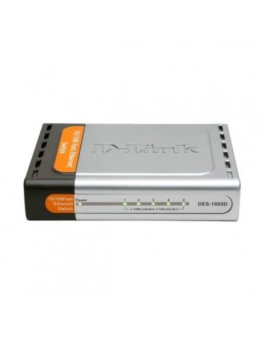 Switch D-Link DES-1005D, 5port...