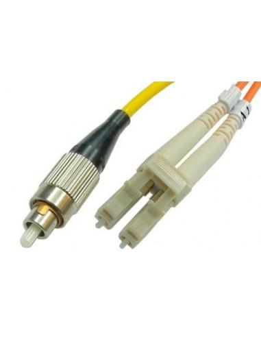 Optični priključni kabel LC-FC SM 2m