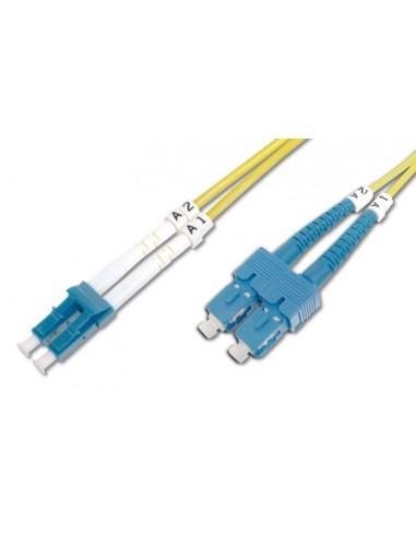 Optični priključni kabel LC-SC SM 1m