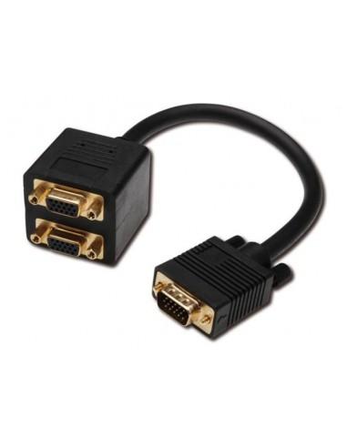 Adapter VGA-M - 2xVGA-Ž
