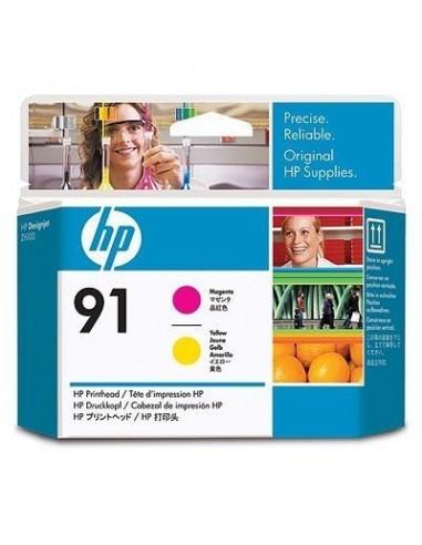 HP glava 91 Magenta in Yellow za DJ...