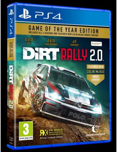 DiRT Rally 2.0 Game of the Year...