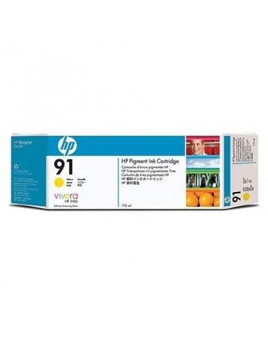 HP kartuša 91 Yellow za DJ Z6100