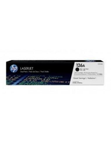 HP komplet tonerjev 2x toner 126A črn...