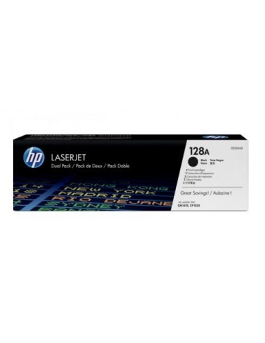 HP komplet tonerjev 2x 128A črn za CP...