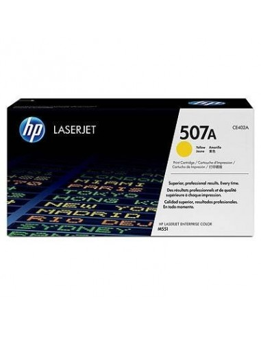 HP toner 507A Yellow za LJ Enterprise...