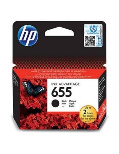 HP kartuša 655 črna za DJ Ink...