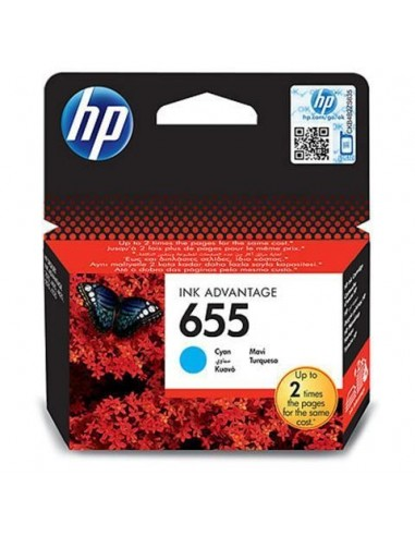 HP kartuša 655 Cyan za DJ Ink...