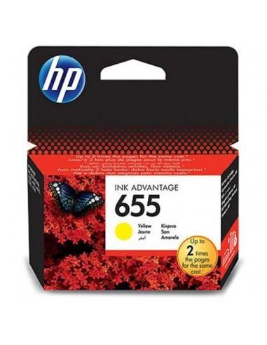 HP kartuša 655 Yellow za DJ Ink...