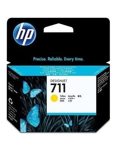 HP kartuša 711 Yellow za designjet...
