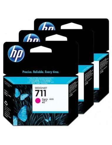 HP komplet kartuš 711 3x Magenta za...