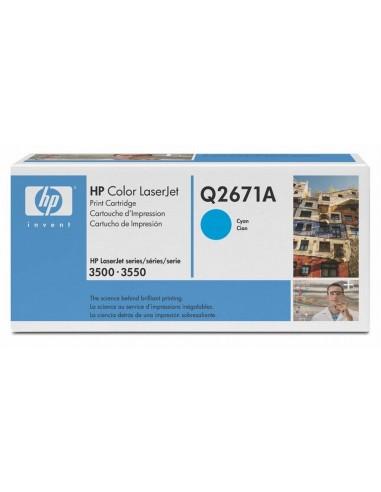 HP toner Q2671A Cyan za LJ 3500/3700...