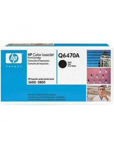 HP toner Q6470A črn za CLJ 3600/3800...