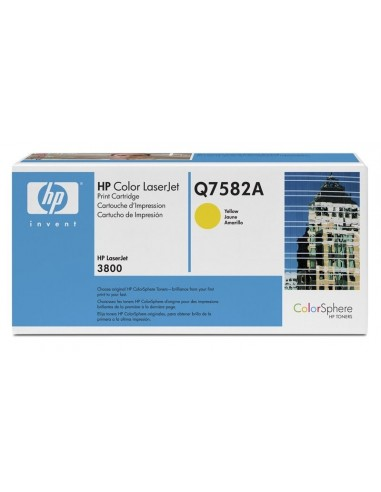 HP toner Q7582A Yellow za CLJ 3800...