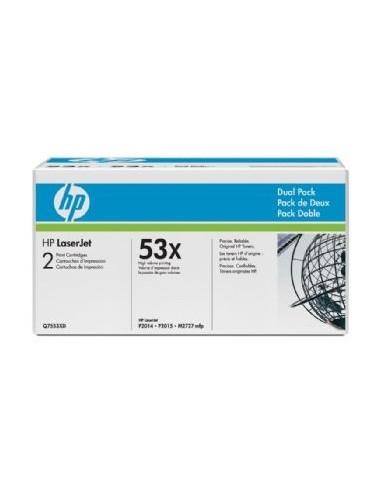 HP komplet tonerjev 2x Q7553XD zaHP...