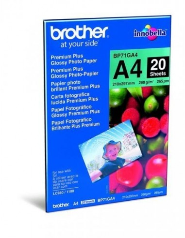 Papir Brother BP71GA4 Glossy Photo...