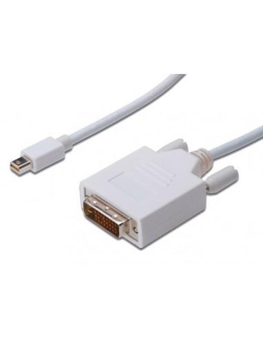 Kabel Mini DisplayPort-DVI M/M 1m