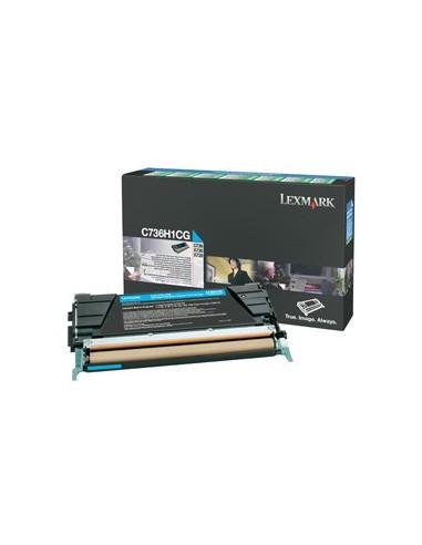 Lexmark toner Cyan za C73X/X73X...