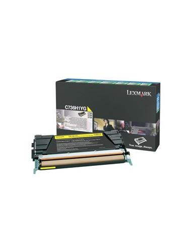 Lexmark toner Yellow za C73X/X73X...