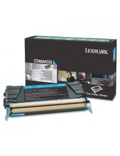 Lexmark toner C746A1CG Cyan...