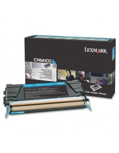 Lexmark toner C746A1CG Cyan za...