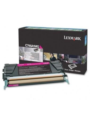 Lexmark toner C746A1MG Magenta za...