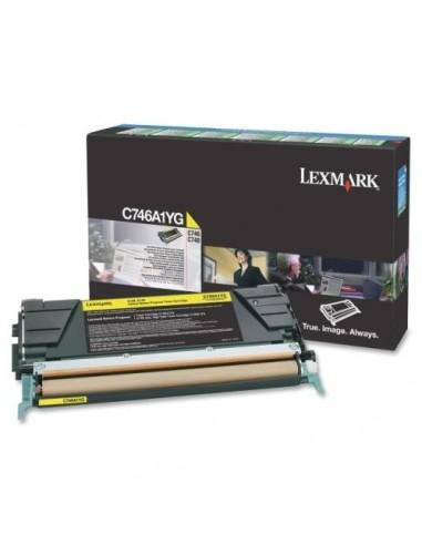 Lexmark toner C746A1YG Yellow za...