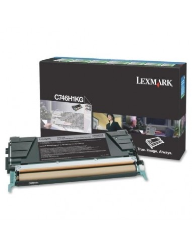 Lexmark toner C746H1KG črn za...