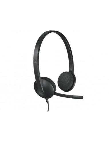 Slušalke z mikrofonom Logitech H340...