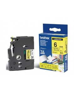 Brother trak TZe-611 6mm...