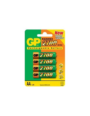 Baterija polnilna GP 2700mAh Ni-MH...