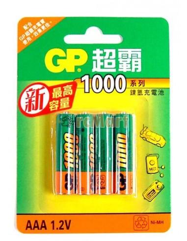 Baterija polnilna GP 1000mAh Ni-MH...